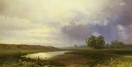 Фёдор Александрович Васильев «Мокрый луг» 1872 г.