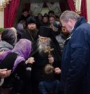 Встреча с о. Илием (Ноздриным) в храме во имя Михаила Архангела
