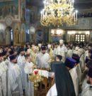 Первая литургия на новосибирской кафедре