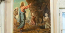 НИЖНИЙ ХРАМ: ВОСКРЕШЕНИЕ ПРАВЕДНОГО ЛАЗАРЯ
